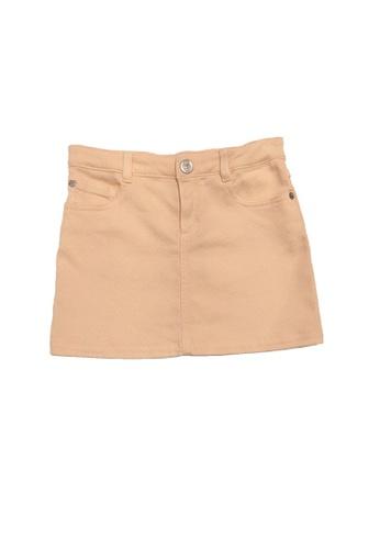 KENZO KIDS orange KENZO GIRLS SKIRTS 56795KAC2B5957GS_1