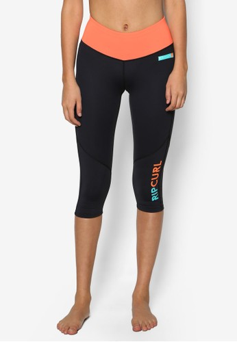 Active 緊身彈性zalora 包包 ptt氣氛運動褲, 服飾, 緊身褲