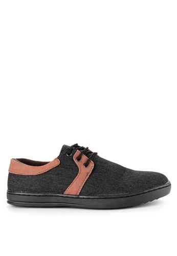 Rocklander black Rocklander Smart Casual Shoes RO753SH0UYFBID_1