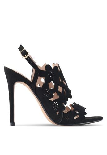 Mango black Laser-Cut Design Sandals BD4B0SHD781956GS_1