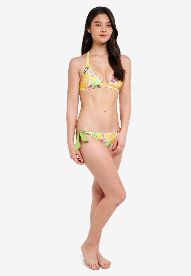 Reversible Set Bikini Yellow Floral Yshey Ivy Fqw618