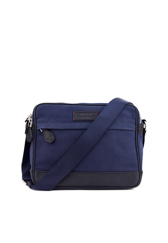 Gnome and Bow blue Thyme Small Messenger in Space Blue 15538ACB18B954GS_1