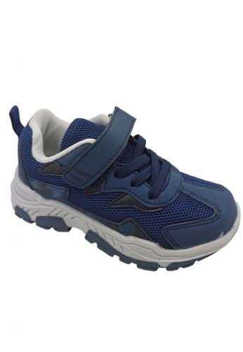 RISE KIDS blue and navy Boys' Rubber Shoes A98C0KS49B35D5GS_1