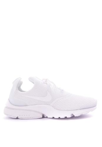 Nike white Women's Nike Presto Fly Shoes NI126SH0SN8RMY_1