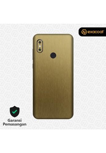 Exacoat Xiaomi Mi Mix 3 3M Skins Titanium Series - Titanium Gold 8AC79ES8BF7FC9GS_1