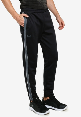 Under Armour black UA Recover Knit Track Pants 4A9E7AAA484BB3GS_1
