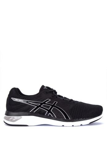 Asics black Gel-Moya Training Shoes 67AE2SHDDD28E0GS_1