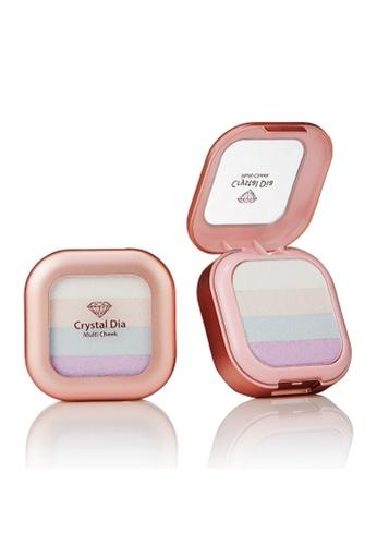 Talent Cosmetics yellow Talent - Crystal Dia Multi Cheek 03 Highlight TA526BE0RA3YMY_1