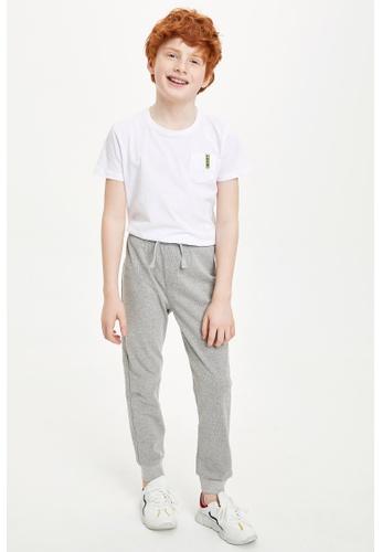 DeFacto grey Boy Knitted Bottom Trousers F97D5KA7B39C53GS_1