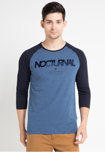 Cressida blue and multi Raglan Nocturnal Tee CR235AA0WE7NID_1