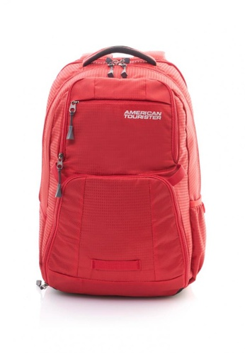 American Tourister red Insta LP Backpack 03 Scarlt 65D40AC67BE931GS_1