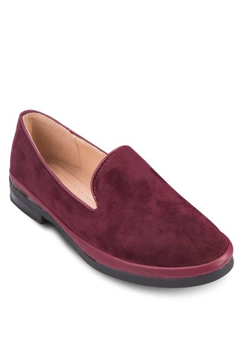 仿麂皮樂福鞋, 女鞋zalora 內衣, 鞋