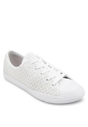 Chuck Taylor All Star 撞色鞋帶網眼休閒鞋esprit香港門市, 女鞋, 鞋