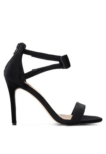 Dorothy Perkins black Black 'Brianna' Heeled Sandals DO816SH0SD5AMY_1