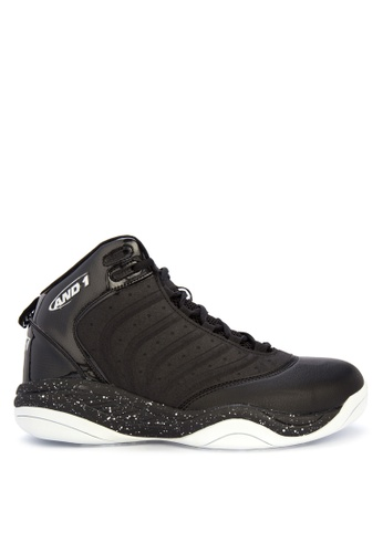 And1 black and multi Drive Basketball Shoes AE454SH58E1B76GS_1