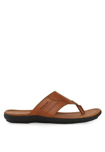 Homyped brown Santiago Men Sandals HO842SH67CPOID_1