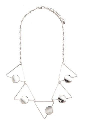 Hollow Triangle Necklace, 飾品配esprit hong kong件, 項鍊