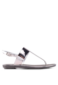 12cc8d8eef1e Carlton London grey Sling Back Sandals 70BE2SH155A53BGS 1