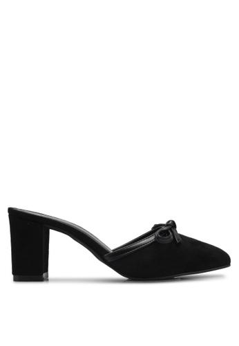 Spiffy black Evening Trendy Block Heels SP352SH0SRYCMY_1