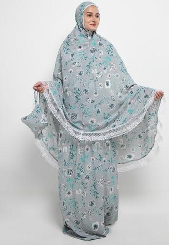 Aira Muslim Butik grey Syameel Travelling Prayer DFA93AA53BF843GS_1