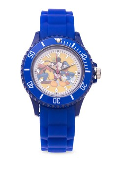 Disney Mickey Mouse & Friends Unisex Silicone Strap Watch MICKEY-ICE-101