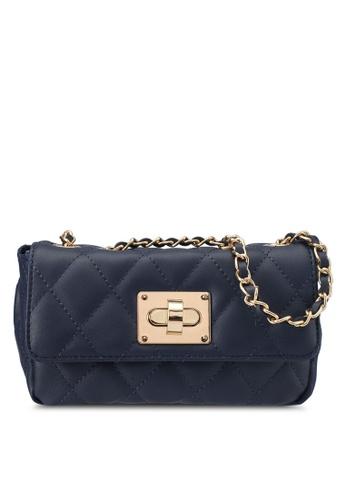 Dorothy Perkins blue and navy Navy Chain Shoulder Bag DO816AC0SRDUMY_1