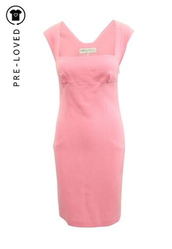 Emilio Pucci pink Pre-Loved emilio pucci Pink Sleveless Dress 3378CAA2653A2FGS_1