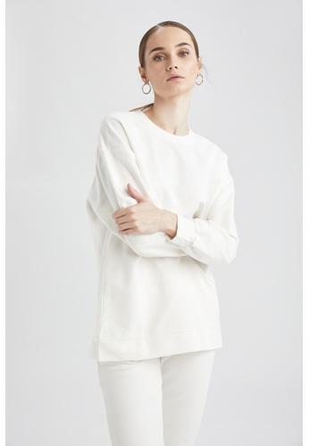 DeFacto beige Woman Knitted Sweat Tunic E7C26AAC41E528GS_1