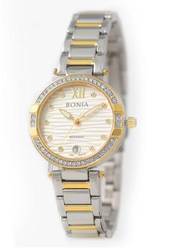 BONIA gold and silver Jam Tangan Bonia Rosso Jam Tangan Wanita BR152-2113S Original B5287AC1986F99GS_1
