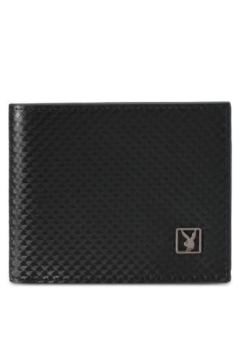 Playboy black Playboy Bi-Fold Wallet PL371AC0SK13MY_1