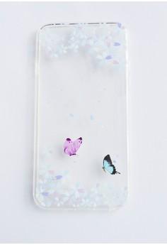 Butterflies Soft Transparent Case for iPhone 6/6s