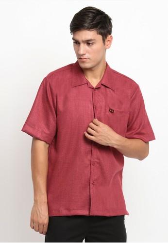 Mellon red Mellon Mawl Maroon Pin Shirt AA1C6AA05802DFGS_1