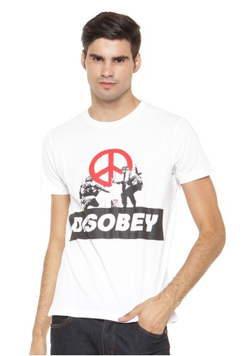 Poshboy T-shirt Print Abri Disobey