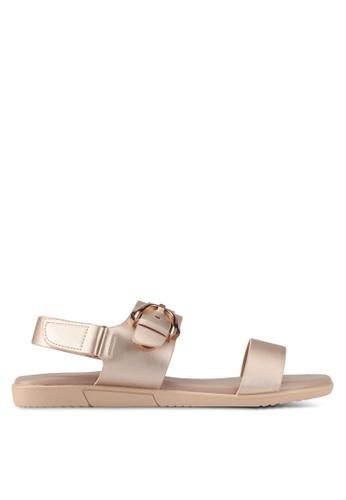 Bata 金色 Bata Casual Sandals B119ESHC2EBE31GS_1
