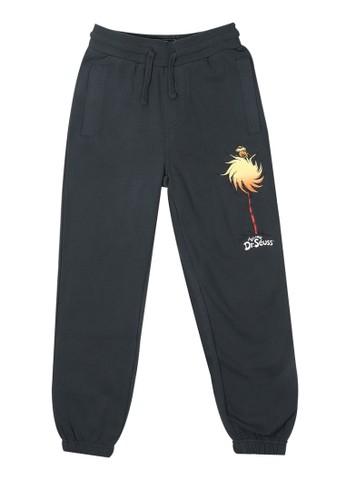 Billabong grey Truffula Trunk Pants 769D7KAE2F35E6GS_1