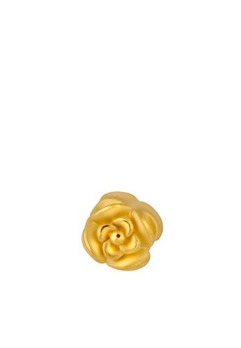 TOMEI gold [TOMEI Online Exclusive] Petals of Love Charm, Yellow Gold 916 (TM-ABIT063-HG-1C) (0.81G) E9257AC1585D05GS_1