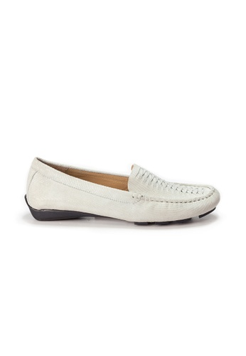 Shu Talk white AMAZTEP Hollywood Celeb Hot Slip On Comfortable Driving Loafer Shoes B8F3CSH65E11F4GS_1