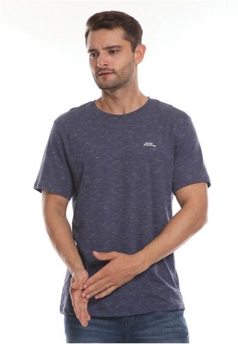 No Fear navy Autonomy - Regular Fit T-Shirt A8234AAFDEBA63GS_1