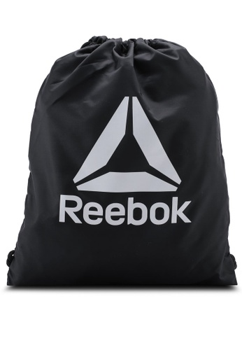 Reebok black Training CoRun Essentials Active Gymsack 52642AC02A3C09GS_1