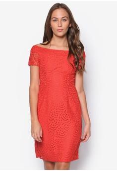 Petite Lace Bardot Dress