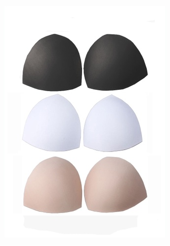 Buy Ysocool Women Removable Sport Bra Insert Pads Replacement Bra Pads 3 Pairs In Set Online Zalora Malaysia