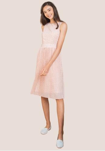 L'zzie pink LZZIE ELLENDER DRESS - PINK BA857AA93BDE45GS_1