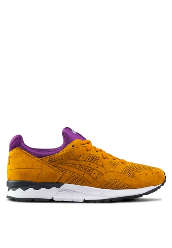 ASICSTIGER brown and multi Gel-Lyte V Lc Sneakers AS214SH62UZXSG_1