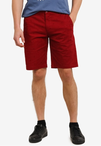 Marc & Giselle red Bermuda Shorts MA188AA0S15NMY_1