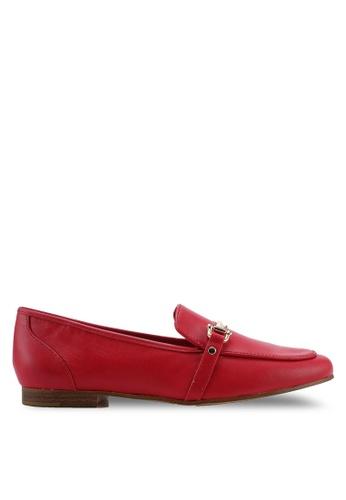 ALDO 紅色 金屬飾懶人樂福鞋 7FC87SHCCF8F95GS_1