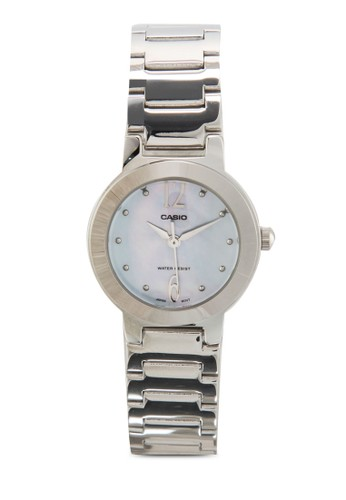LTP-1191A-2ADF 圓框細帶鍊錶, 錶類,esprit地址 飾品配件