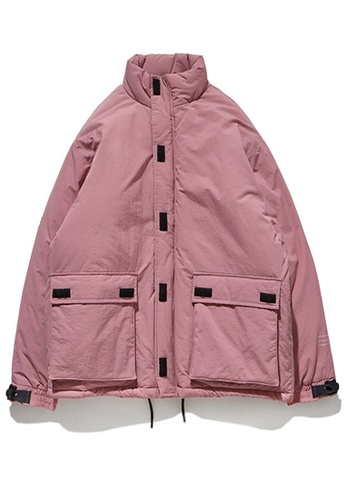 Twenty Eight Shoes pink Street Style Thickened Warm Coat 8761W 5D31BAA19404A9GS_1