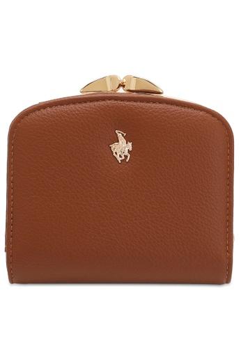 Swiss Polo brown LADIES SHORT PURSE D4C2FAC50FA94EGS_1