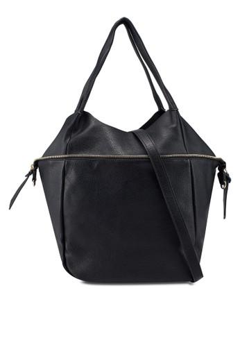 Vero Moda black 2 in 1 Tote Bag EE10DAC02C9B9CGS_1
