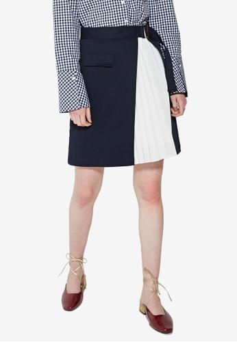 1cf03ec68f Buy Hopeshow Pleated Wrap Skirt Online on ZALORA Singapore